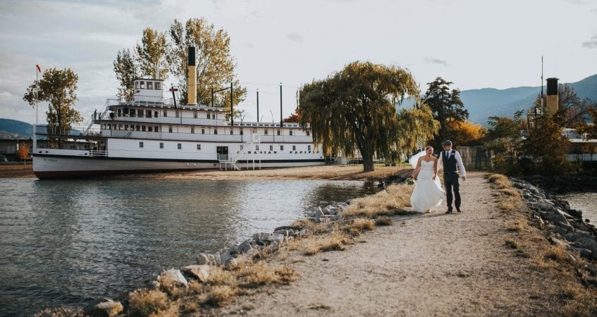 SS Sicamous Wedding Penticton Kelowna Photographer