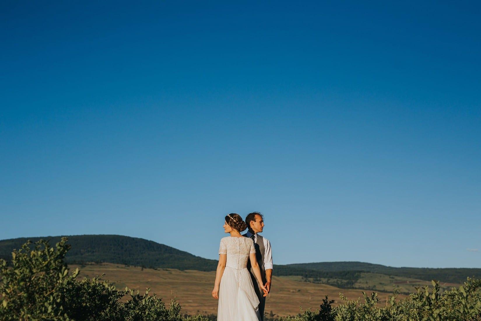 Lake Country Blueberry Farm Wedding Photographer