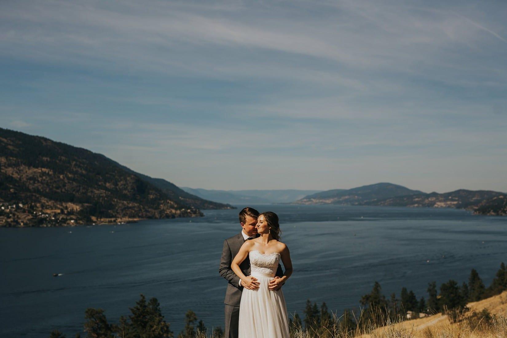 Knox Mountain Wedding Kelowna BC Photographer
