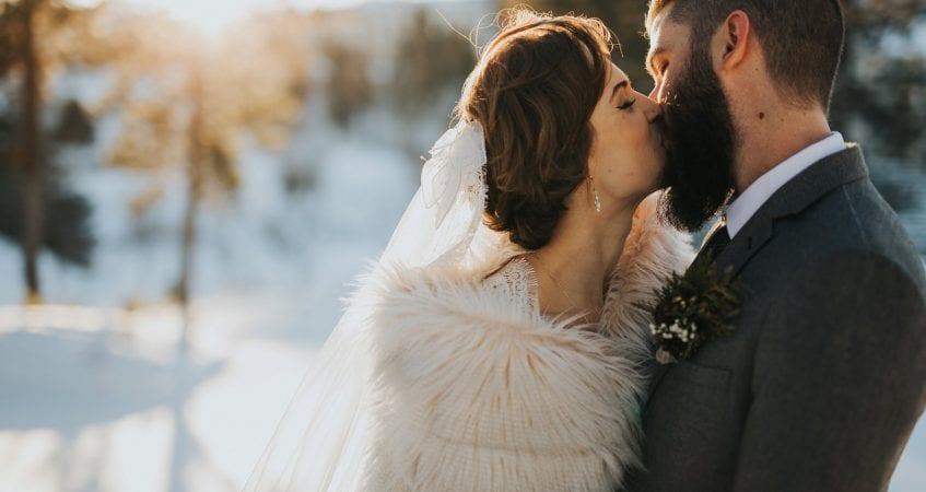 Kelowna Okanagan Winter Wedding Photographer