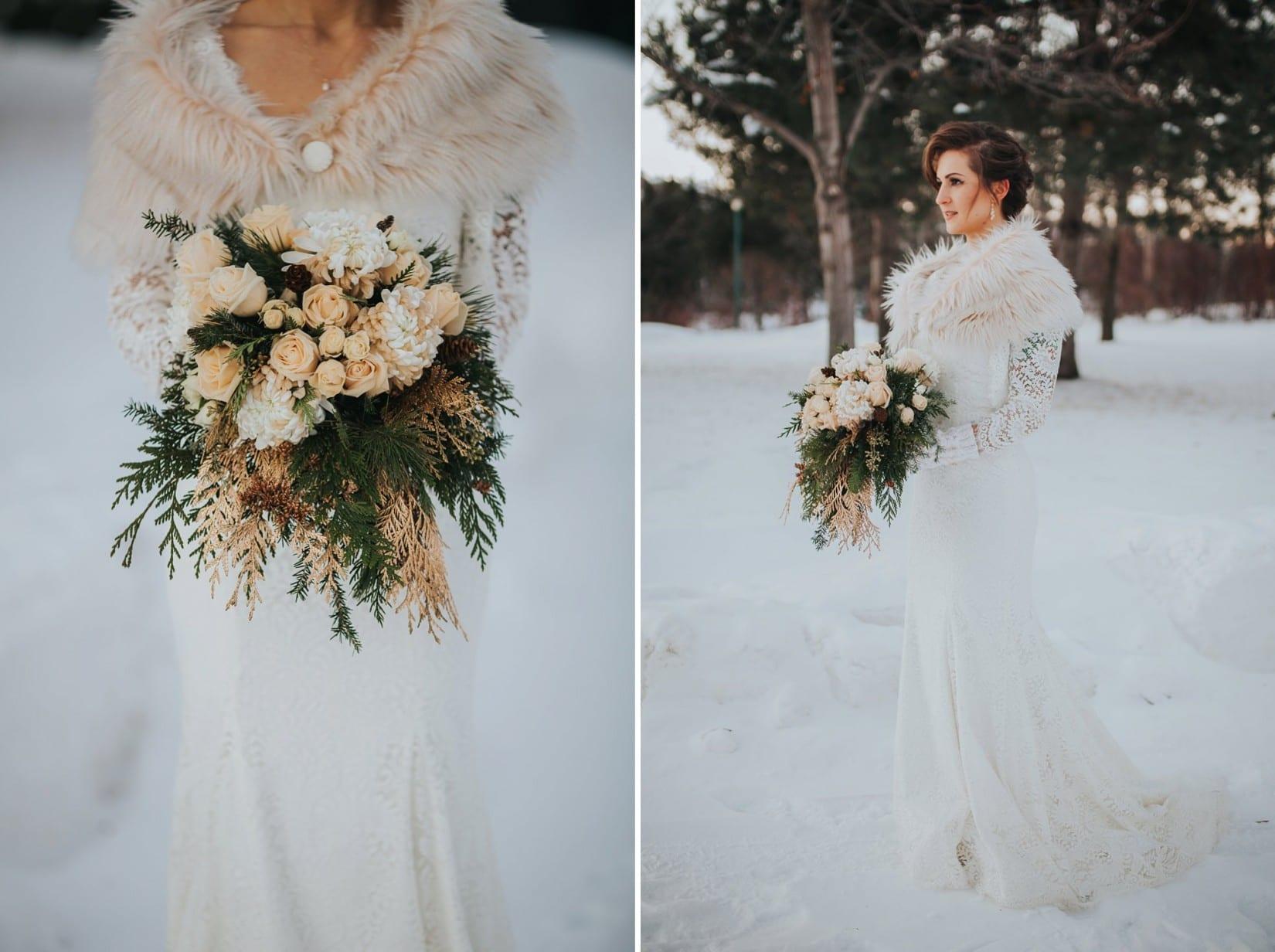 Okanagan Winter Wedding | Chelsea + Greg - Barnett Photography