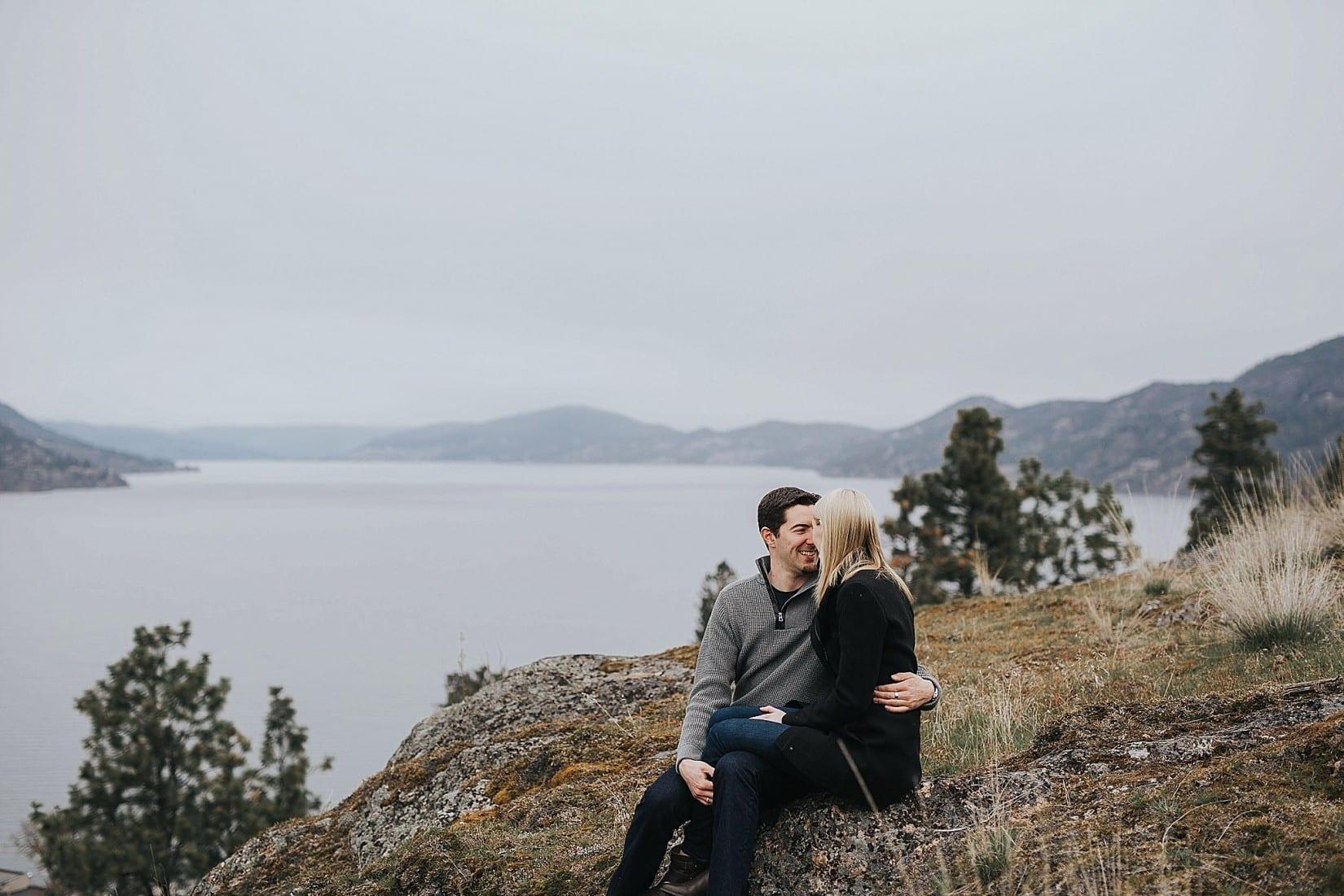 Okanagan Engagement Photography