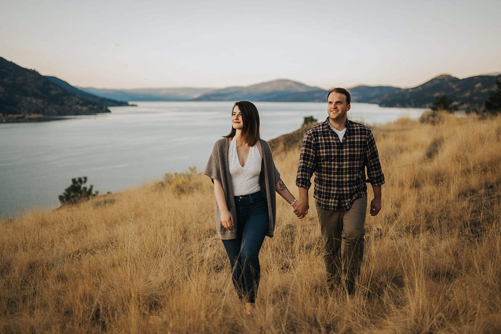 Gorgeous Engagement Session Kelowna Wedding Photographer Barnett Photography