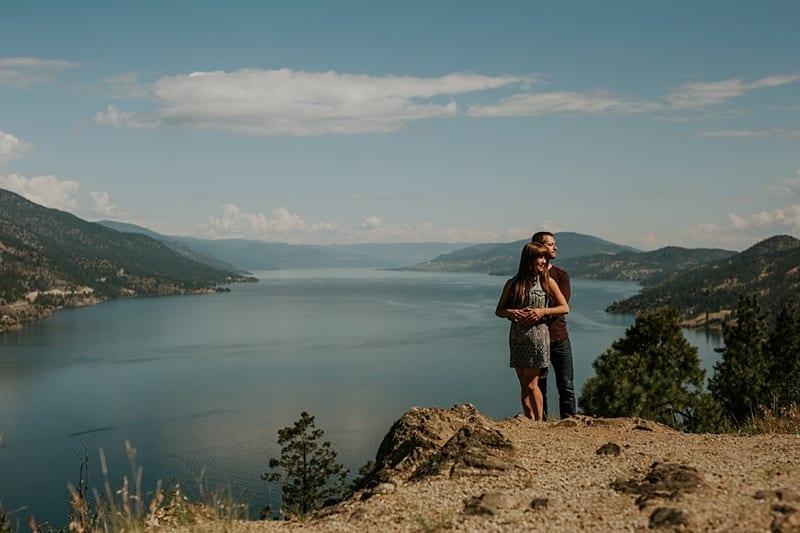 Kelowna Engagement Photographer Knox Mountain_3875