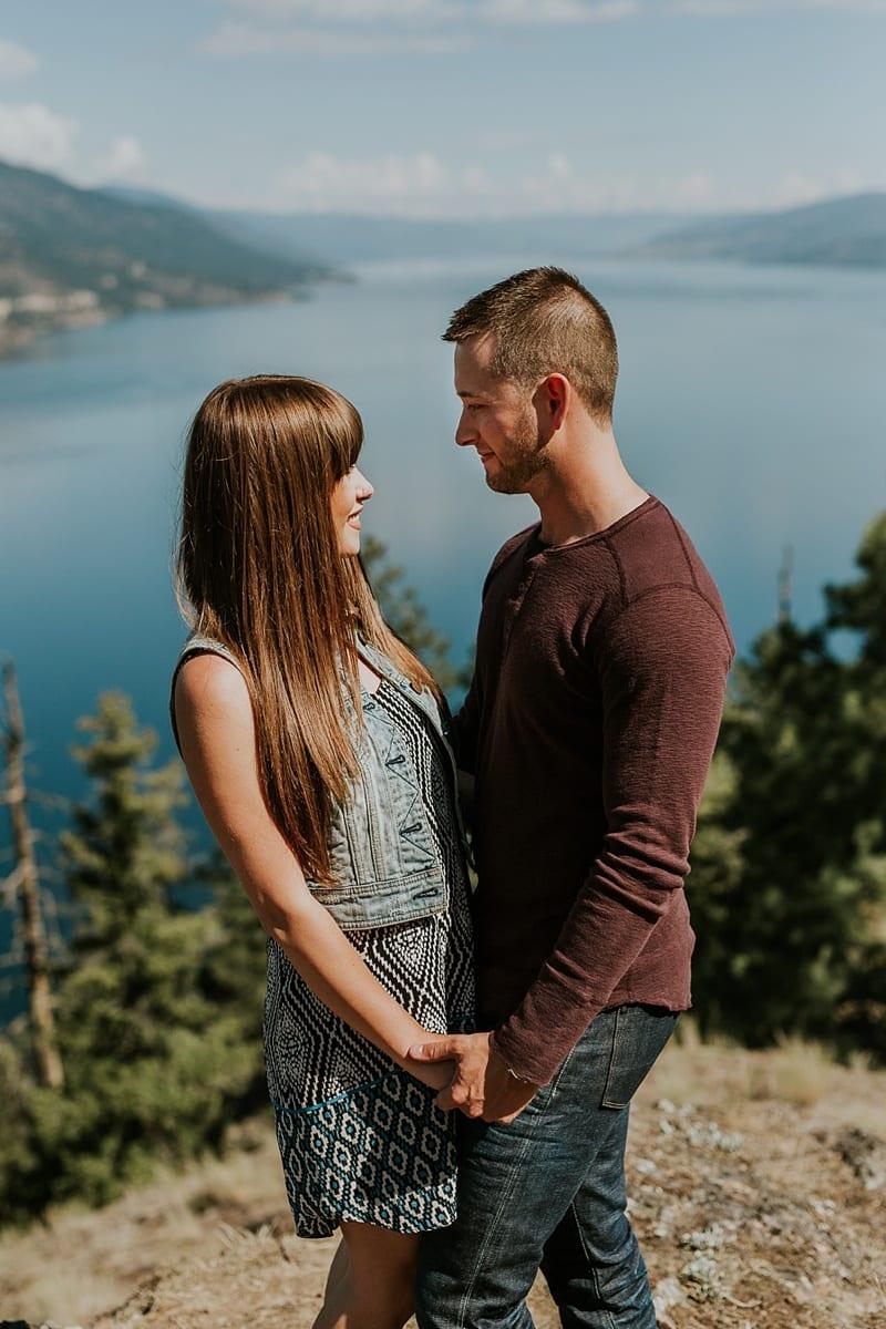 Kelowna Engagement Photographer Knox Mountain_3879