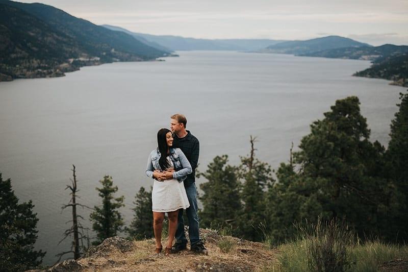 Kelowna Photographer Knox Mountain Engagement Photography Okanagan_3033