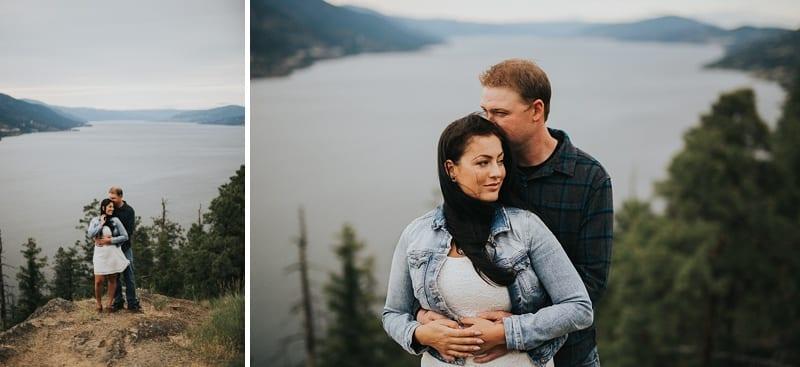 Kelowna Photographer Knox Mountain Engagement Photography Okanagan_3034