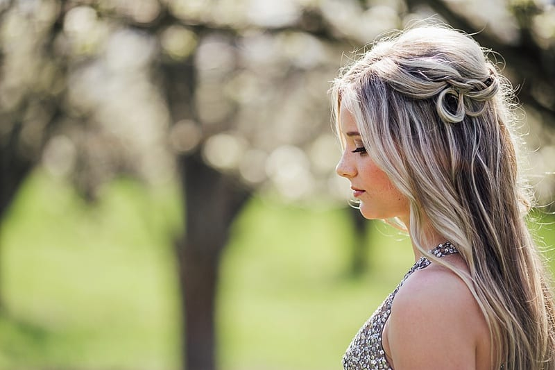 Kelowna Photographer Okanagan Grad Prom Photography Orchard Blossoms British Columbia_2523