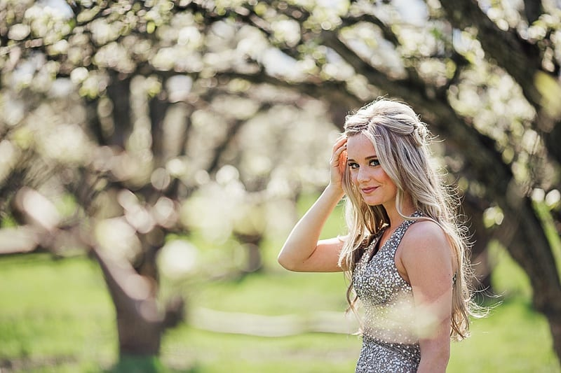 Kelowna Photographer Okanagan Grad Prom Photography Orchard Blossoms British Columbia_2524