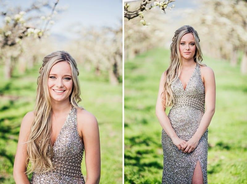 Kelowna Photographer Okanagan Grad Prom Photography Orchard Blossoms British Columbia_2528