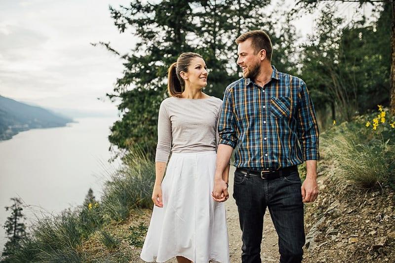Kelowna Photographer Okanagan Knox Mountain Wedding Engagement Photography_2601