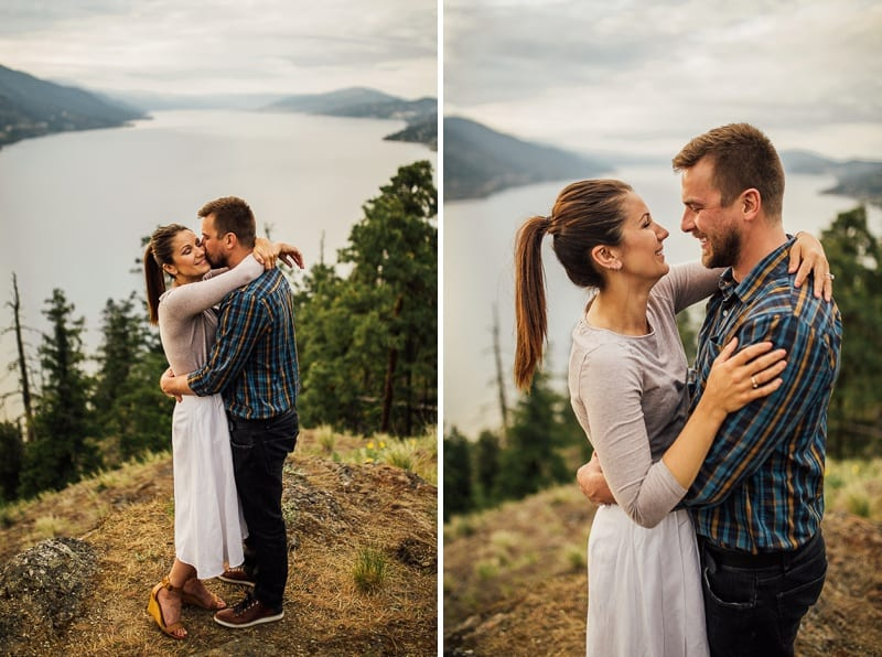 Kelowna Photographer Okanagan Knox Mountain Wedding Engagement Photography_2610