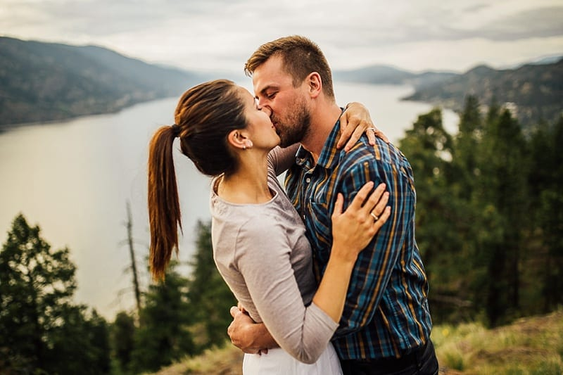 Kelowna Photographer Okanagan Knox Mountain Wedding Engagement Photography_2611